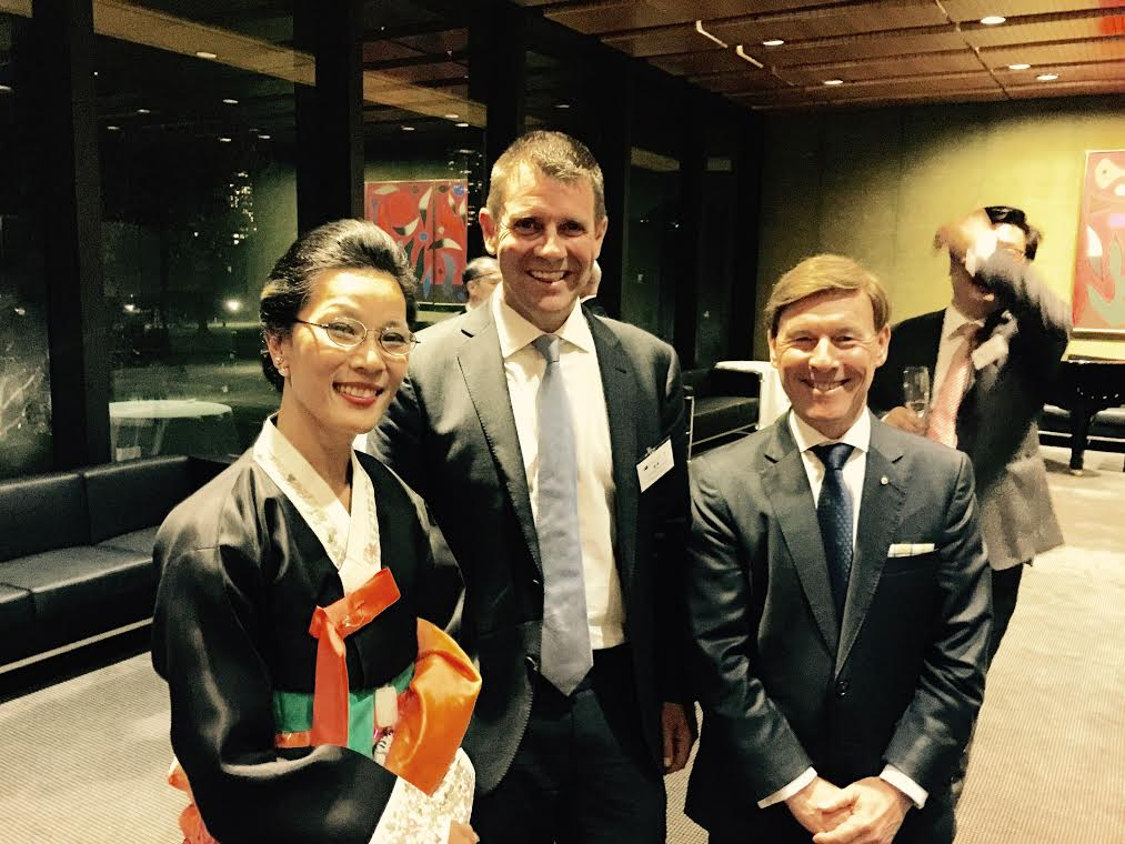 Korean World Animal Day Ambassador Attends A Dinner at Parliament House in Sydney, Australia