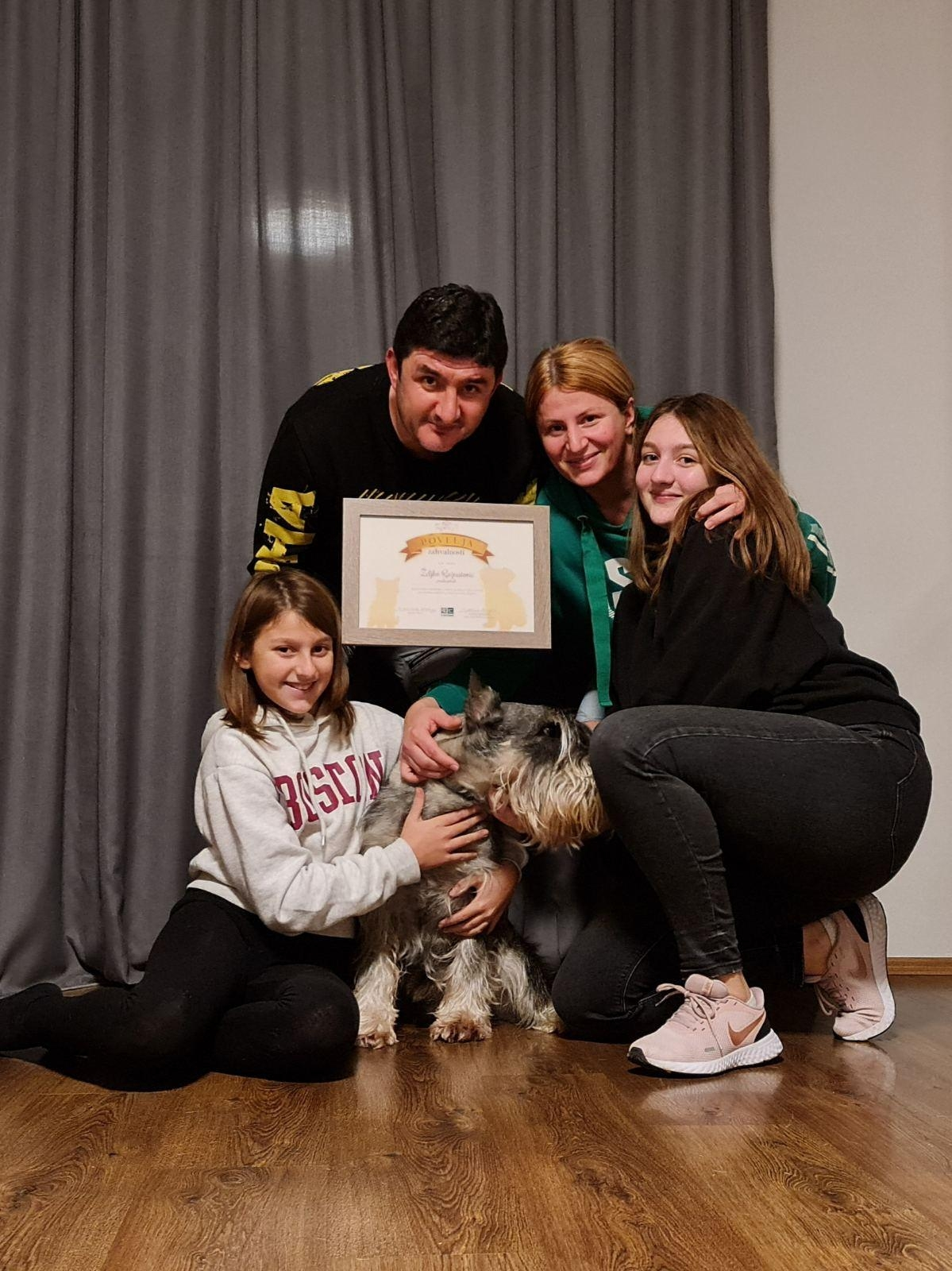 World Animal Day Award Montenegro 2020