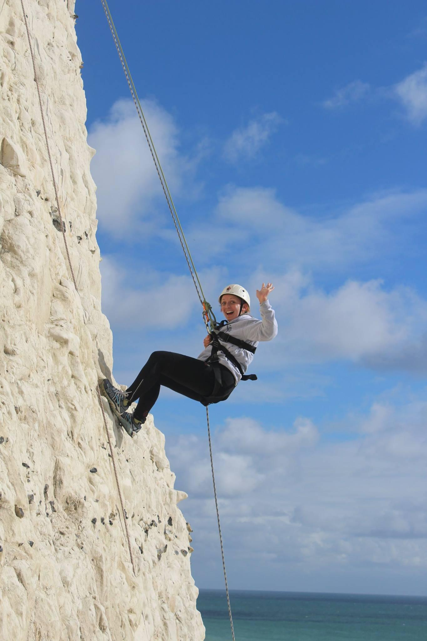 Abseil for Raystede