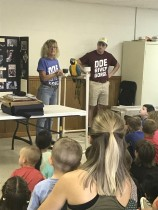 Exotic bird & animal rescue show & anti-tobacco presentation