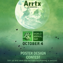 Arrtx World Animal Day Contest