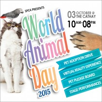 SPCA CELEBRATES WORLD ANIMAL DAY 2015
