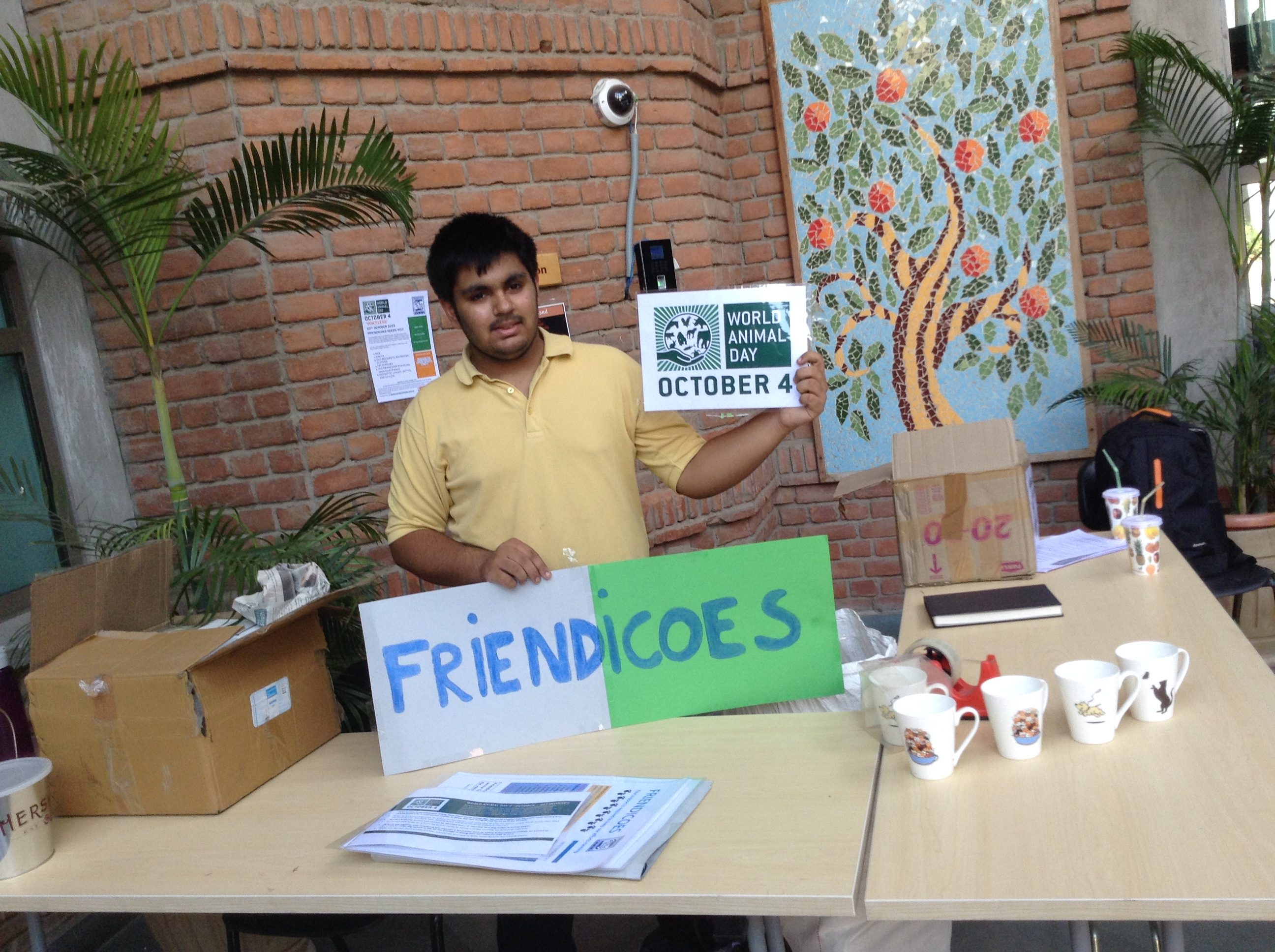 Friendicoes Fundraiser/Donation Drive and World Animal Day Celebration