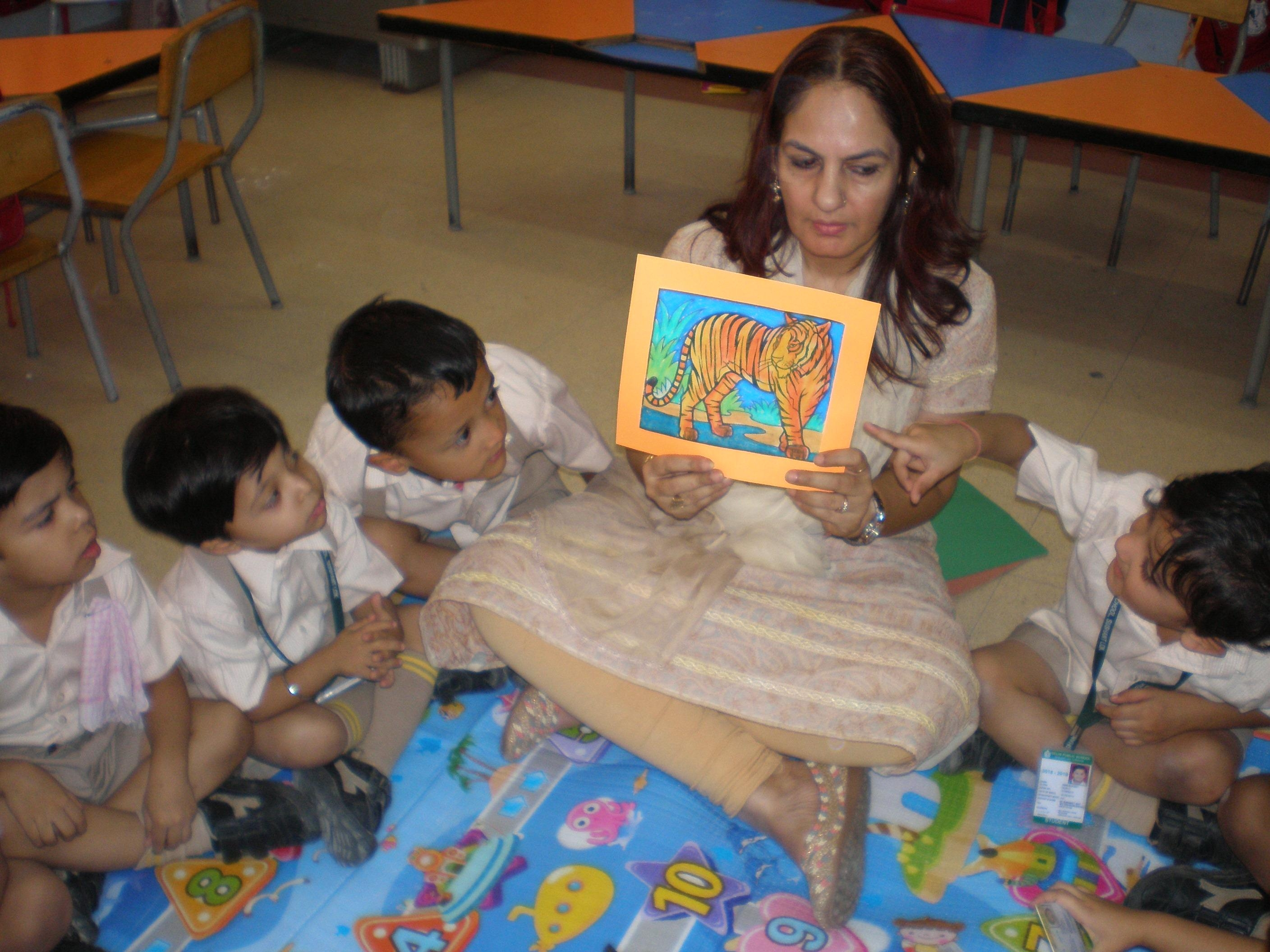 Think Before Extinct: Action through Drama - Class Nursery