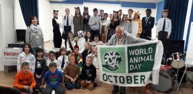 Nice World Animal Day in British International School in Kyiv!