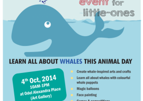 Odel promotes responsible whale watching