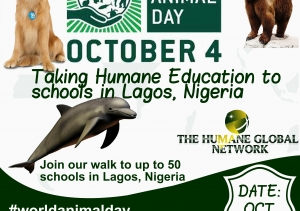 Nigerian Schools celebrate World Animal Day