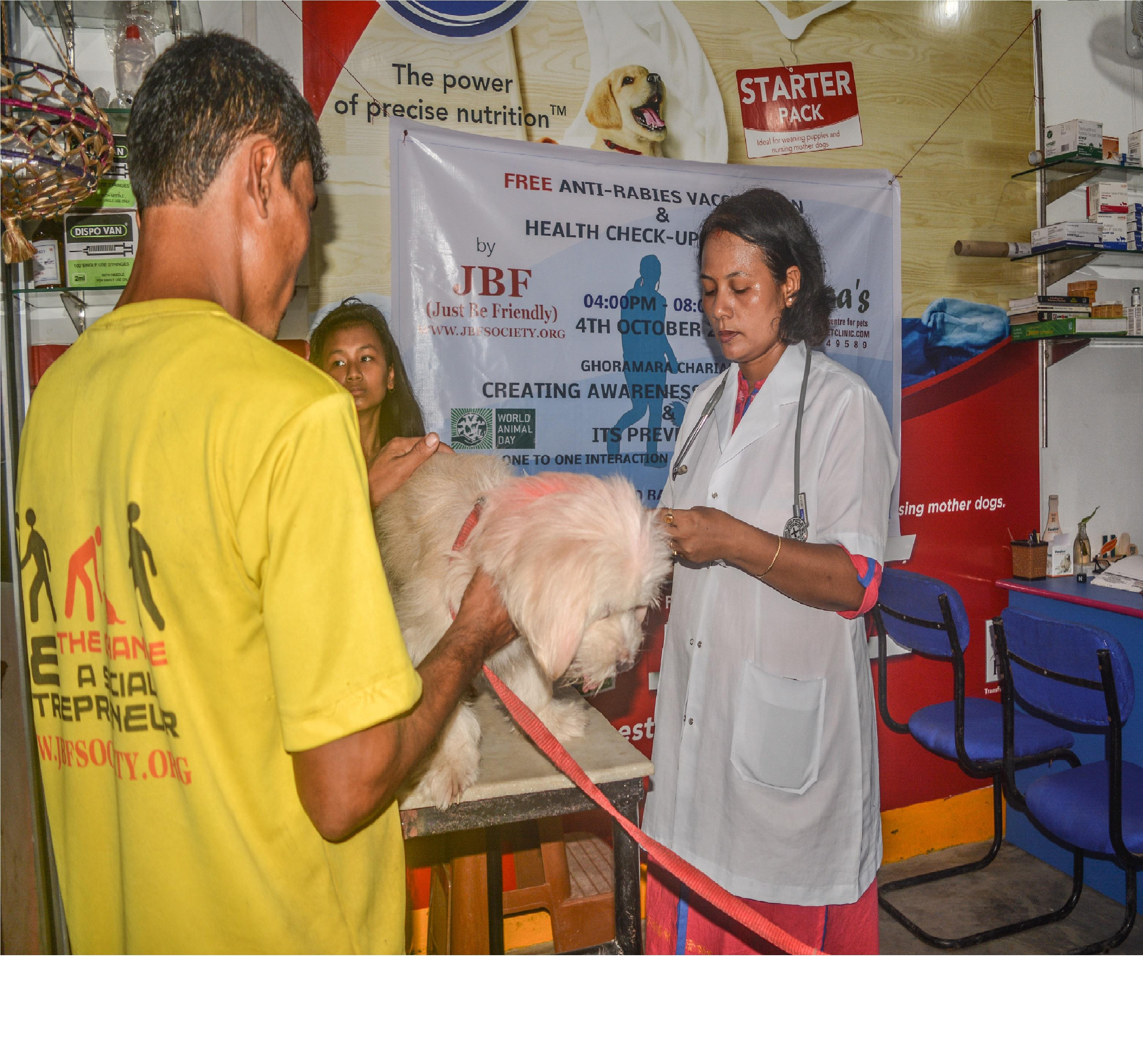 Vaccinate and be safe on World Rabies Day