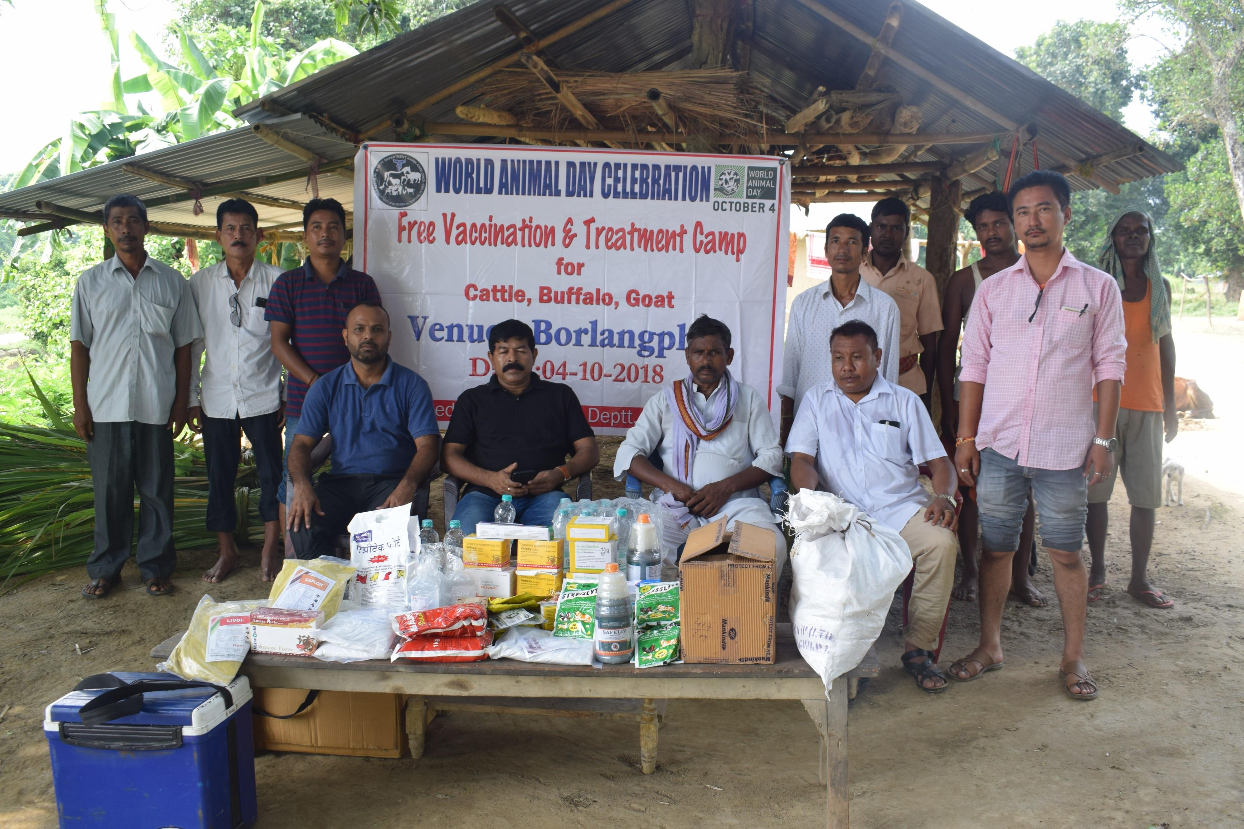 World Animal Day Celebration, Animal Husbandry and Veterinary Department, Karbi Anglong, Assam