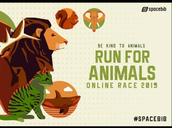 Run For Animals Online Race 2019