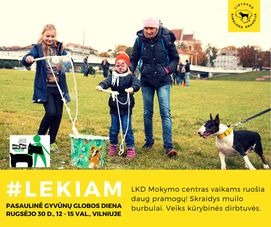 World Animal Day in Vilnius, Lithuania