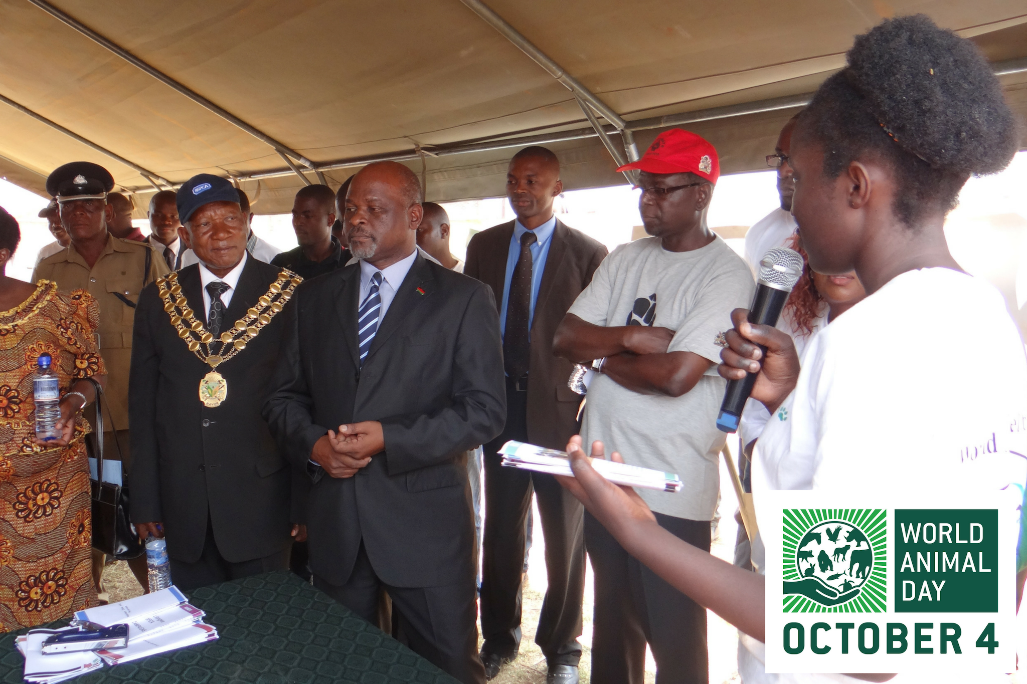 Malawi - Lilongwe SPCA Influence Minister & Other Officials