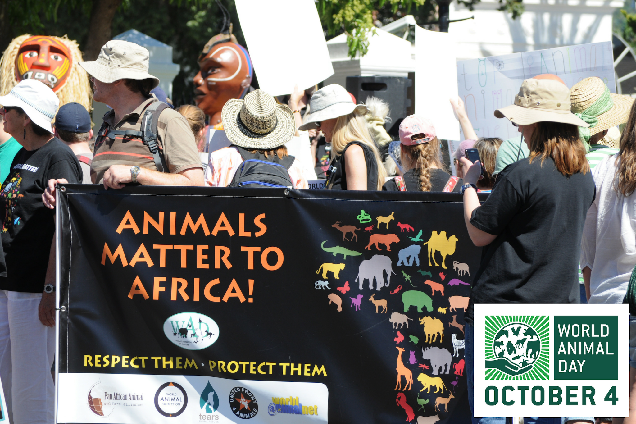 South Africa - March to Influence Government Around Animal Welfare