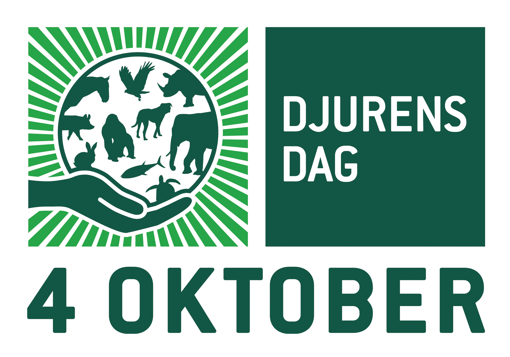 Swedish World Animal Day logo